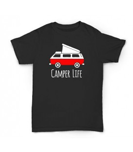 Camiseta Happy Camper