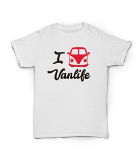 Camiseta I Love Vanlife