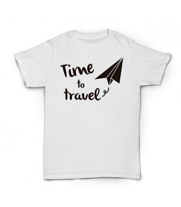 Camiseta Time To Travel