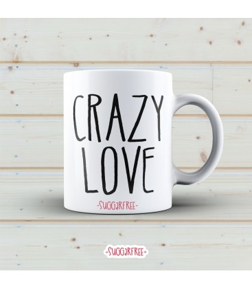 TAZA CRAZY LOVE